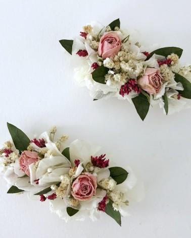 Ganchos de flor preservada
